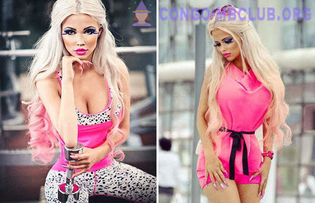 She wanted to be like a living Barbie