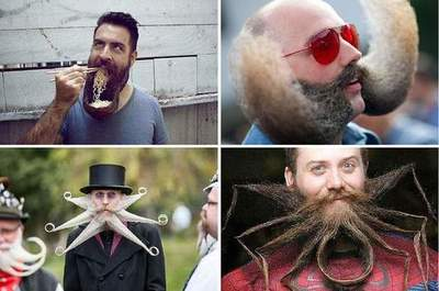 The most unusual beards and mustaches