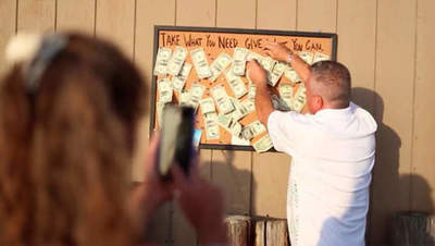 Man stuck to the board a few dollars, and what happened next surprised not only his