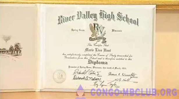 103-year-old American has received a high school diploma