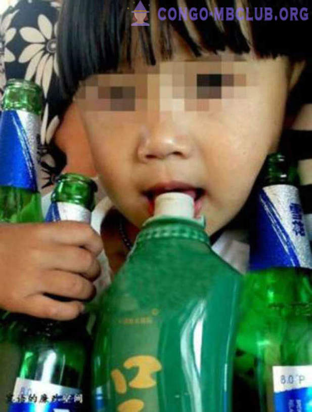 Year-old boy has become the youngest alcoholic China