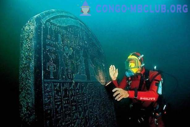 Ancient Heraklion - the lost city under water