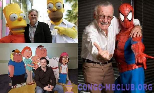 Famous cartoons characters and their creators