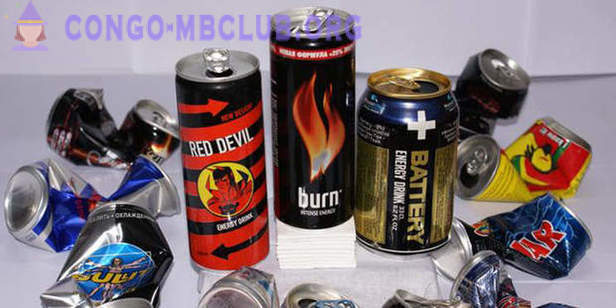 The use of energy drinks caffeine leads to poisoning
