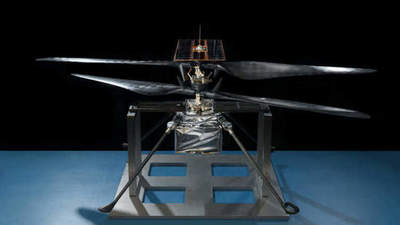 Martian helicopter almost ready to be sent to the Red Planet