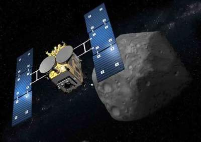 The Japanese Space Agency has shown new images of the asteroid's surface