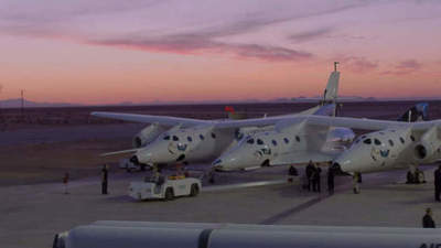 Hosted another successful test of the company Virgin Galactic spaceplane