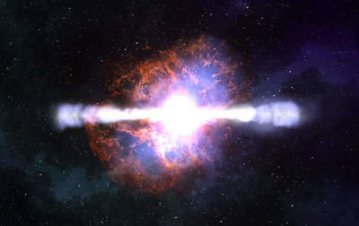 Scientists have created a gamma-ray burst of the laboratory