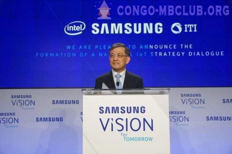 Samsung Electronics CEO of resigned to save the company