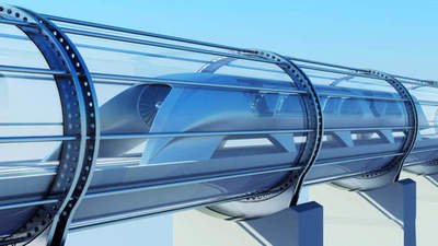In Hyperloop One selected the best regions for laying lines