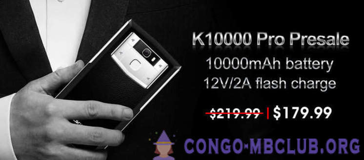 Smartphone with the most capacious battery in the world on sale