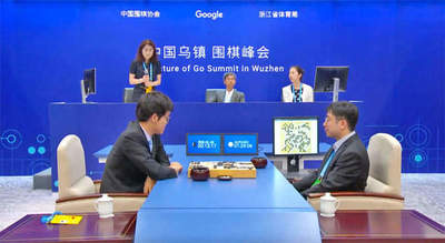 AlphaGo algorithm became world champion for the first game