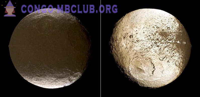 Iapetus: the strangest moon of the Solar System