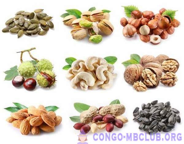 Edible nuts and seeds