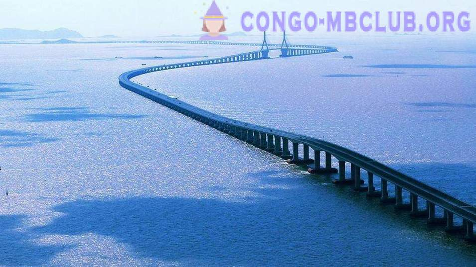 The longest bridges of different countries