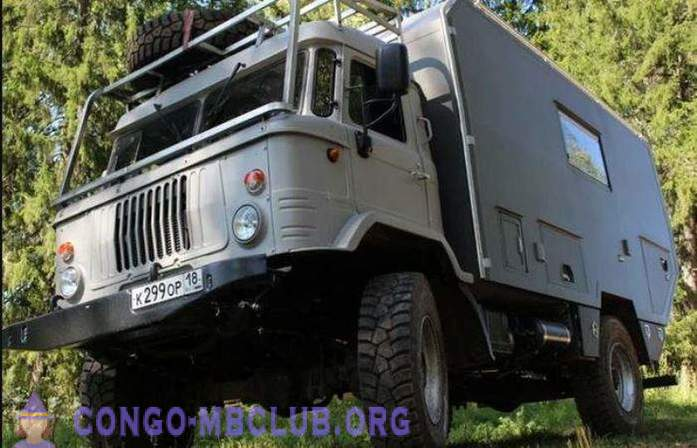 How to make a motorhome from GAZ-66