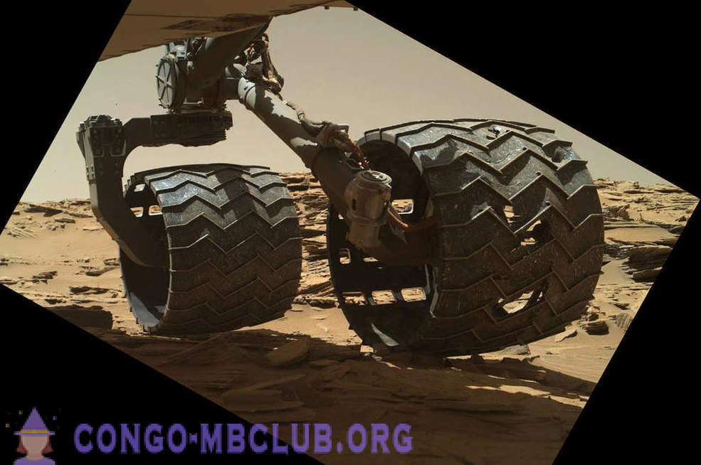 The best images of the rover Curiosity and the latest news from the Red Planet