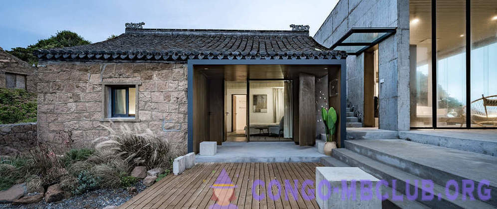 Old Chinese House, which turned into a modern residence