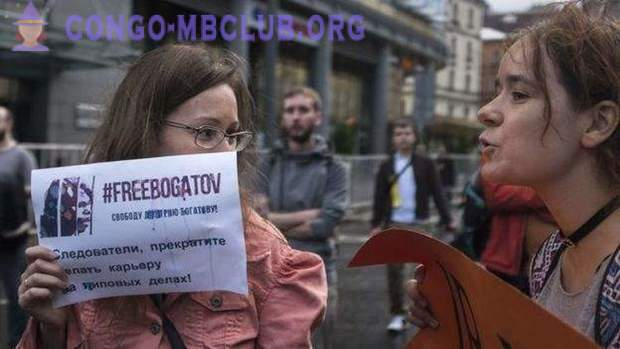 In Moscow, a rally was held for the release of Internet