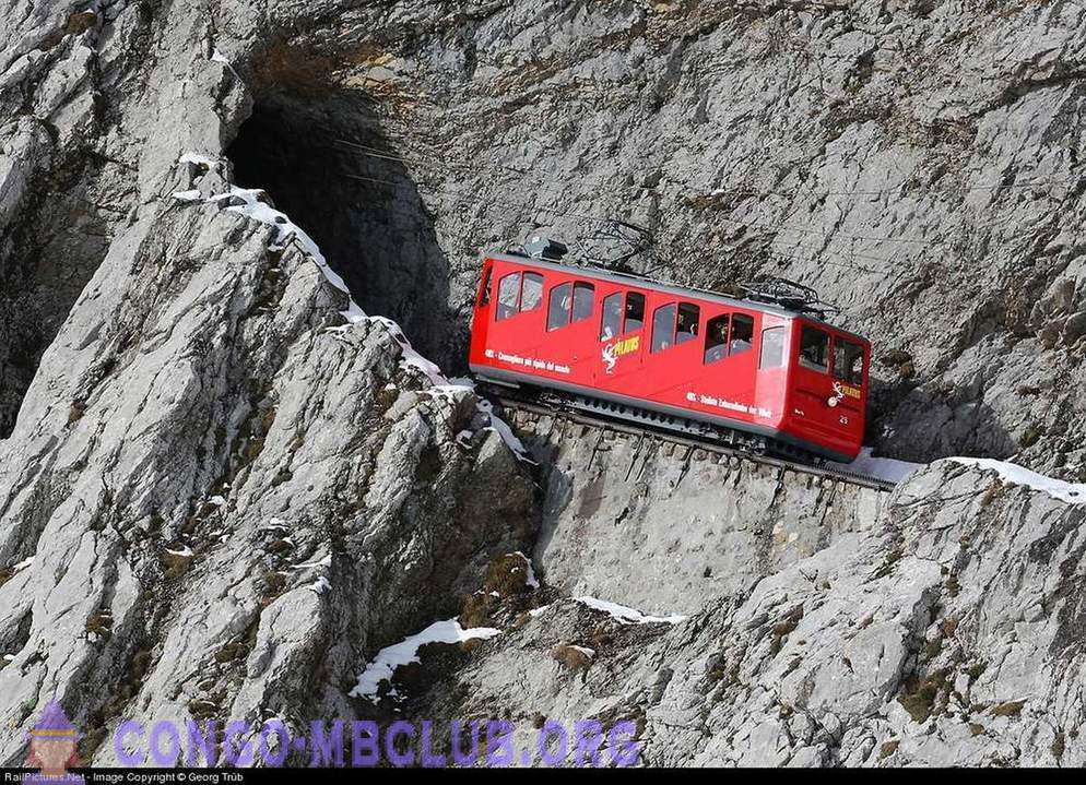 What it is the steepest railway in the world