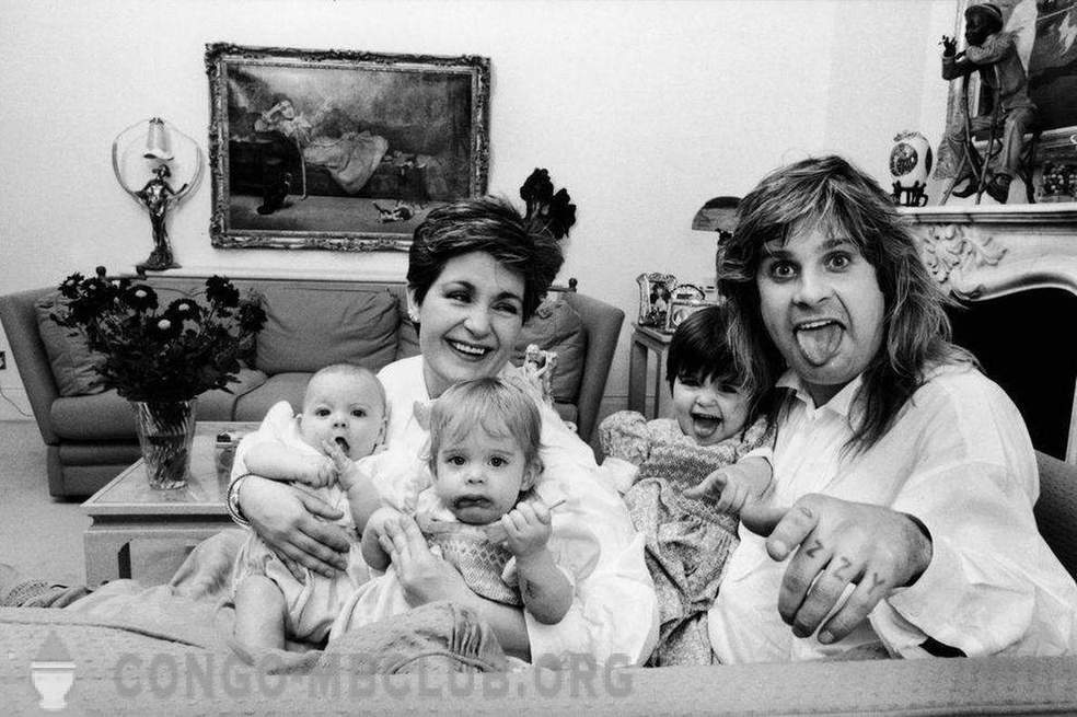 10 of the brightest moments of the family life of the great and terrible Ozzy Osbourne