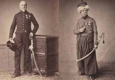 1858: portrait of the last surviving veterans of the Napoleonic Wars