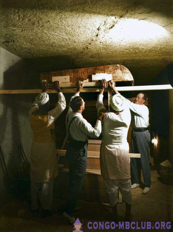 1922: discovery of the tomb of Tutankhamun