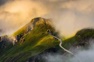 Grossglockner - the most beautiful alpine roads of Europe