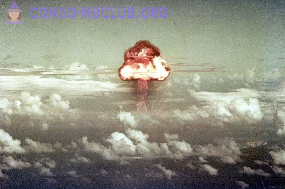 Test nuclear weapons - '71