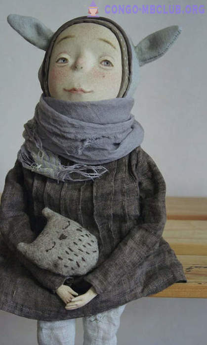 Lovely northerners: funny and touching doll artist from Novosibirsk