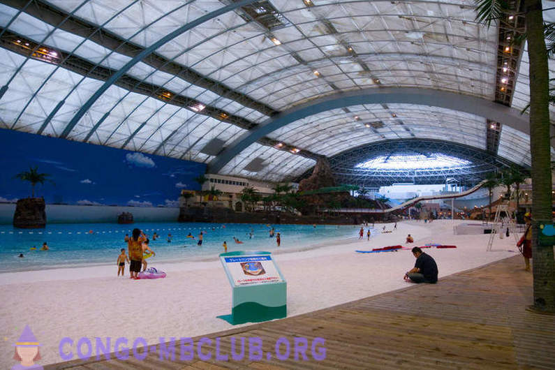 The biggest pool in the world