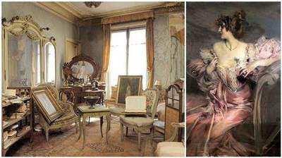 Parisian apartment, forgotten for 70 years