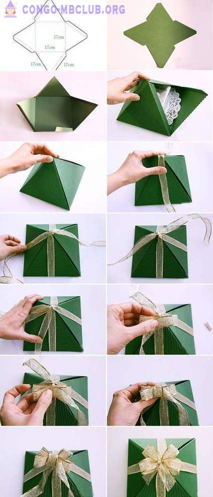 Gift wrapping for the New Year