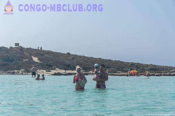 Walking along the beach of the Cypriot town of Ayia Napa