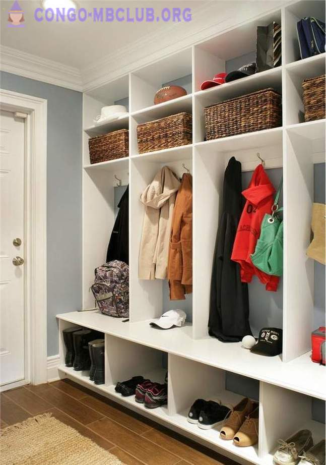 17 cool ideas for a cozy anteroom