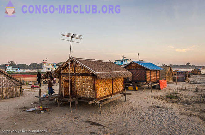 How to live in a village in Burma?