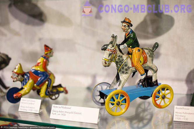 The world of children's toys of the past