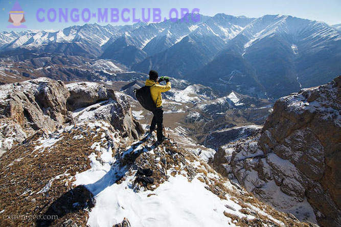 First BASE expedition to the Caucasus