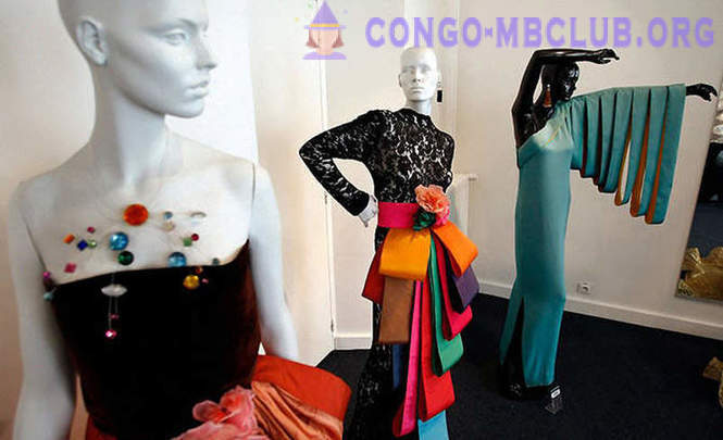Tour of the new museum of Pierre Cardin