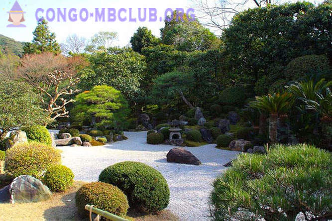 Walk through a beautiful Japanese gardens