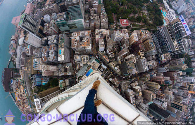 Hong Kong from a height
