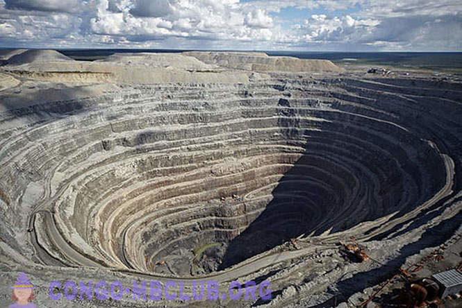 As in Russia mined diamonds