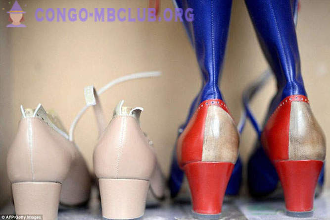 How to make shoes for cabaret dancers