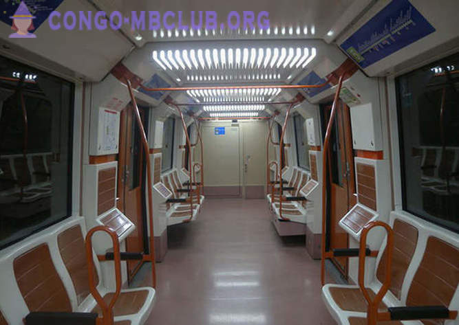 It looks like subway cars in different countries