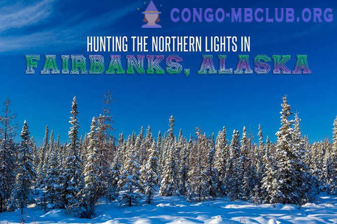 The hunt for the Northern Lights in Fairbanks, Alaska
