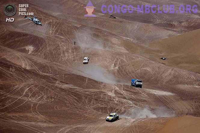 Dakar Rally 2014. The road to the finish line