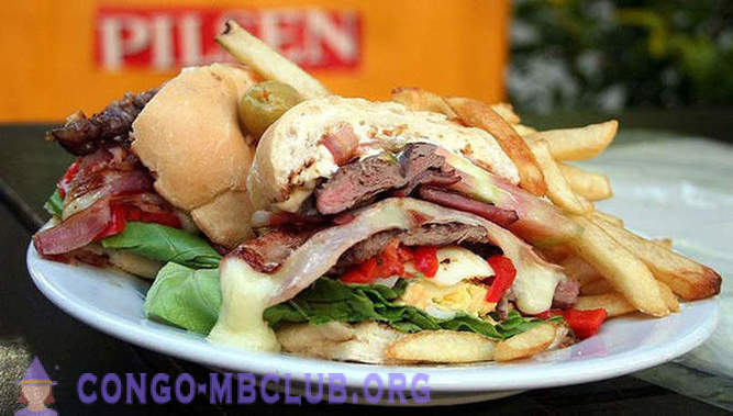 Around the world with sandwiches