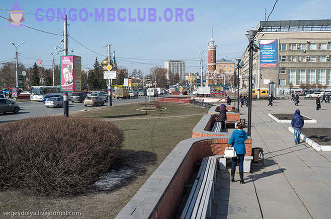Walk on the Omsk