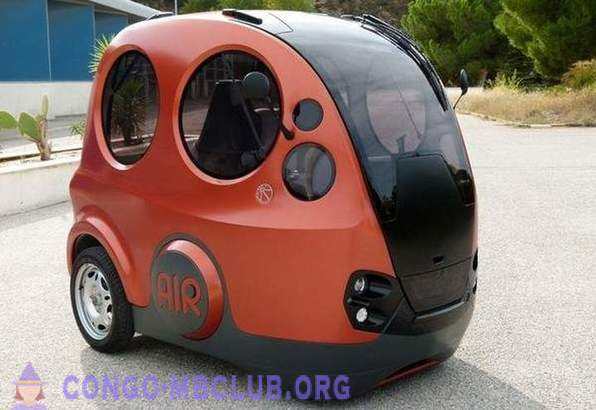 Design unusual urban vehicle