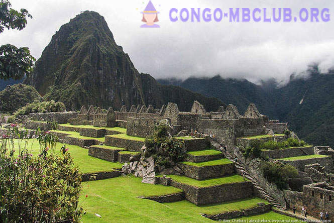 Machu Picchu - looted the city of the Inca Empire